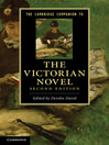 The Cambridge Companion to the Victorian Novel (eBook)