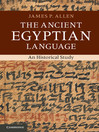 The Ancient Egyptian Language (eBook)