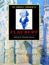 The Cambridge Companion to Flaubert (eBook)