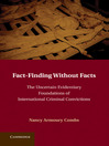 Fact-Finding Without Facts (eBook)
