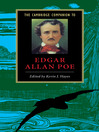 The Cambridge Companion to Edgar Allan Poe (eBook)