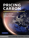 Pricing Carbon (eBook): The European Union Emissions Trading Scheme