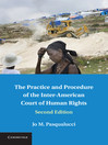 The Practice and Procedure of the Inter-American Court of Human Rights (eBook)