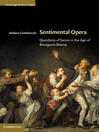 Sentimental Opera (eBook): Questions of Genre in the Age of Bourgeois Drama