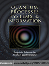 Quantum Processes, Systems, and Information (eBook)