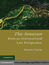 The International Legal Protection of the Amazon (eBook)