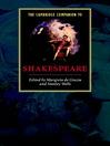 The Cambridge Companion to Shakespeare (eBook)