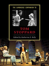 The Cambridge Companion to Tom Stoppard (eBook)