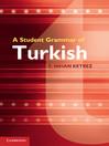 A Student Grammar of Turkish (eBook)