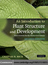 An Introduction to Plant Structure and Development (eBook): Plant Anatomy for the Twenty-First Century