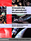 Creativity in Product Innovation (eBook)