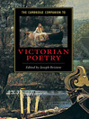 The Cambridge Companion to Victorian Poetry (eBook)