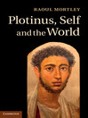 Plotinus, Self and the World (eBook)