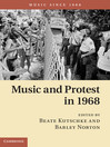 Music and Protest in 1968 (eBook)