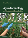 Agro-Technology (eBook): A Philosophical Introduction