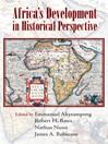 Africa's Development in Historical Perspective (eBook)