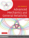 Advanced Mechanics and General Relativity (eBook)