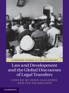 Law and Development and the Global Discourses of Legal Transfers (eBook)
