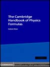 The Cambridge Handbook of Physics Formulas (eBook)