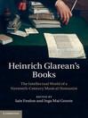 Heinrich Glarean's Books (eBook)