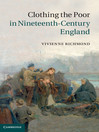Clothing the Poor in Nineteenth-Century England (eBook)