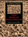 The Cambridge Companion to the Roman Historians (eBook)