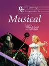The Cambridge Companion to the Musical (eBook)