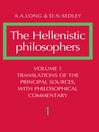 The Hellenistic Philosophers (eBook)