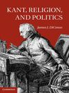 Kant, Religion, and Politics (eBook)
