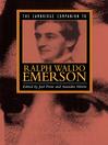 The Cambridge Companion to Ralph Waldo Emerson (eBook)