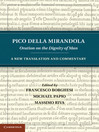 Pico della Mirandola (eBook): Oration on the Dignity of Man