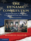 The Dynamic Constitution (eBook)
