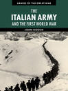 The Italian Army and the First World War (eBook)