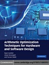 Arithmetic Optimization Techniques for Hardware and Software Design (eBook)