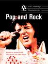The Cambridge Companion to Pop and Rock (eBook)