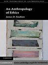 An Anthropology of Ethics (eBook)