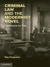 Criminal Law and the Modernist Novel (eBook)