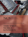 The Two Noble Kinsmen (eBook)