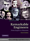 Remarkable Engineers (eBook): From Riquet to Shannon
