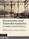 Structures and Transformations in Modern British History (eBook)