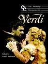 The Cambridge Companion to Verdi (eBook)