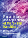 Fundamentals and Applications of Micro and Nanofibers (eBook)