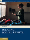Judging Social Rights (eBook)