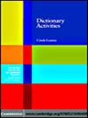 Dictionary Activities (eBook)