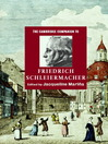 The Cambridge Companion to Friedrich Schleiermacher (eBook)