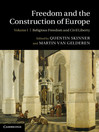 Freedom and the Construction of Europe (eBook)