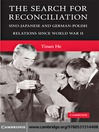 The Search for Reconciliation (eBook): Sino-Japanese and German-Polish Relations Since World War II