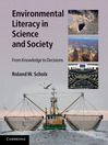 Environmental Literacy in Science and Society (eBook): From Knowledge to Decisions