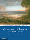 Expressions of Time in Ancient Greek (eBook)