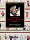 The Cambridge Companion to English Renaissance Tragedy (eBook)
